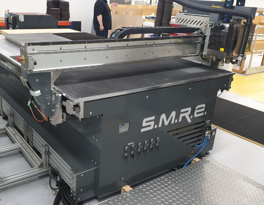 SM-360-TA laser cutter machine (machine on rental)