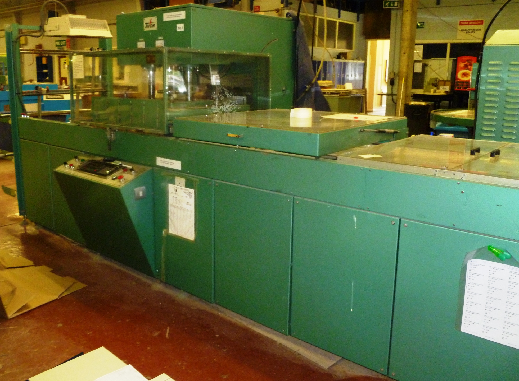 Thor 12kw in line welder with large head size SOLD - Image 1