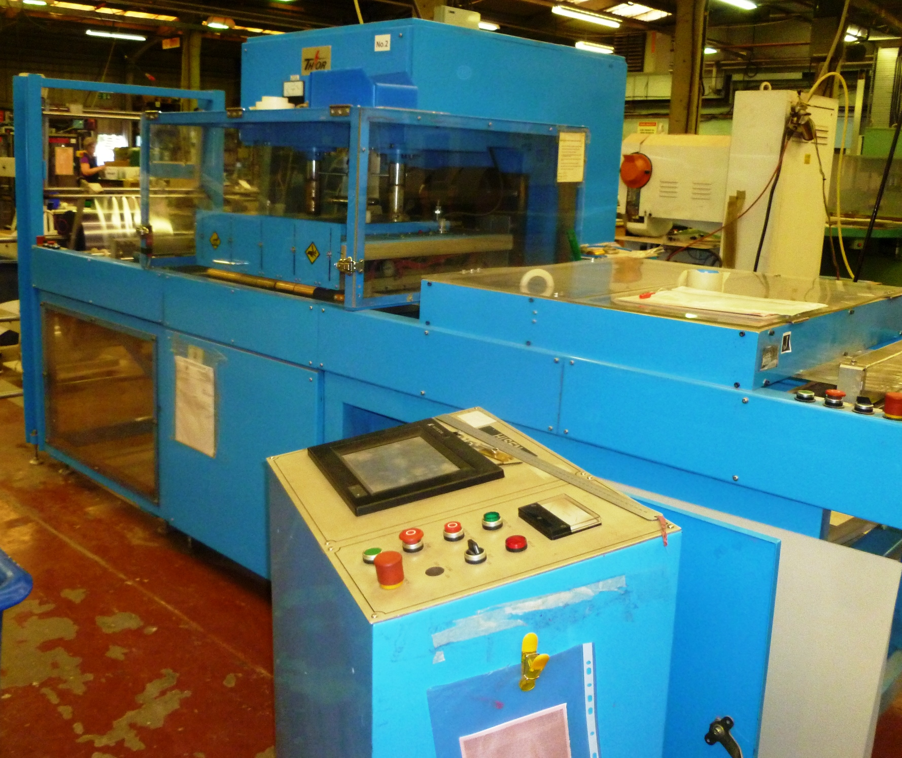 Thor 1024 CE regulated in line welder - Image 1